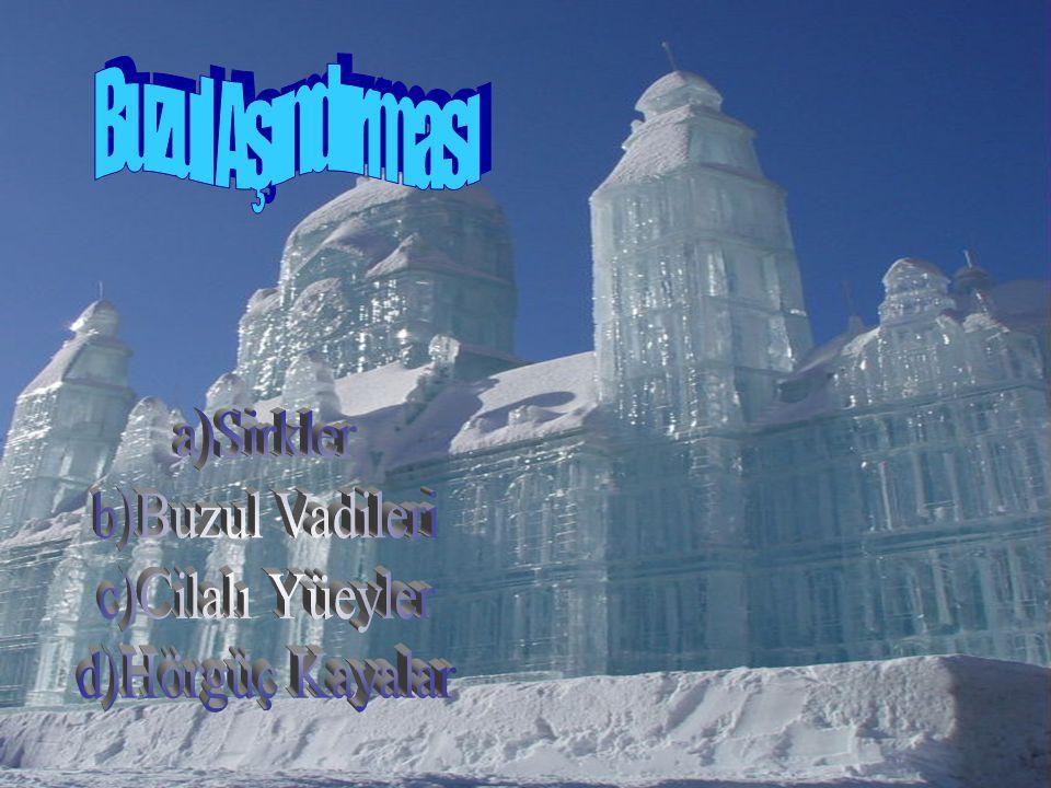 Kalınlığı artan buzlar, ağırlaşarak sıkışır, yer çekimi ve eğimin etkisi ile hareket eder.Buzullar hareket ettikleri zeminleri aşındırır.