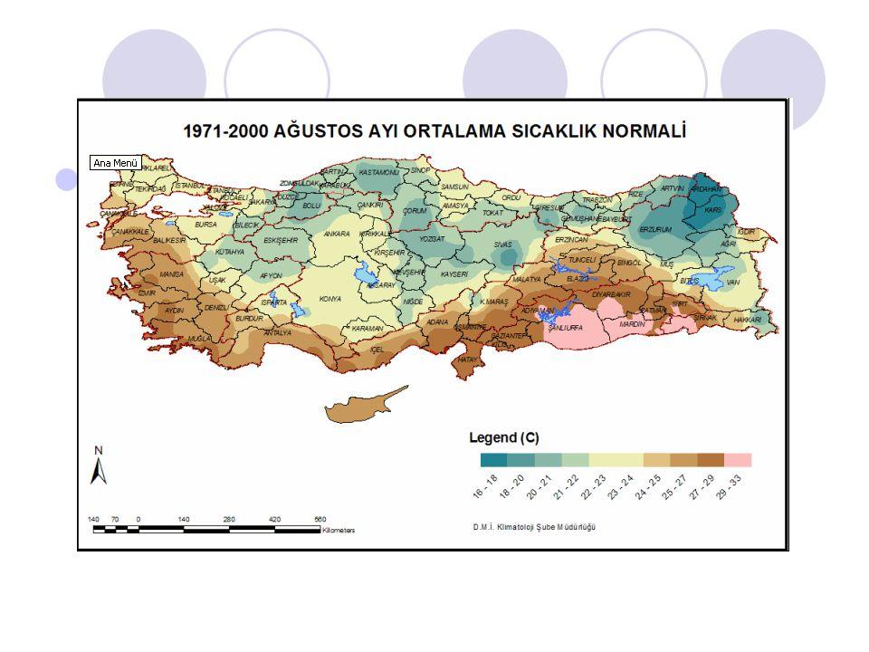 MEVSİMLİK TAHMİN Planlama amaçlı hazırlanan uzun vadeli mevsimsel hava tahmin verilerinin analizleri doğrultusunda; Sıcaklık; Kasım ayında Türkiye genelinde sıcaklık değerleri mevsim normalleri civarında, Aralık-Ocak döneminde Kuzey bölgelerde mevsim normallerinden 0.5-1 derece daha düşük, diğer bölgelerde mevsim normalleri civarında olacağı öngörülmektedir.