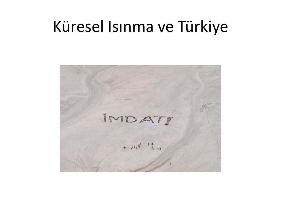 Türkiye'de beklenen yüzey sıcaklığı değişiklileri