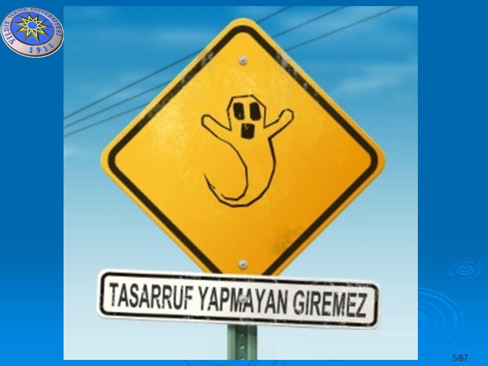 46/87 Enerji Yönetimi Neleri Kapsar.
