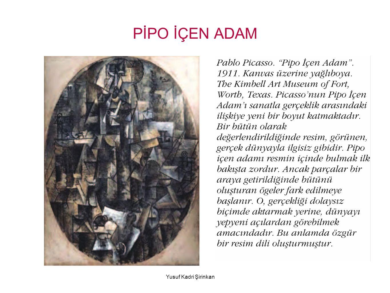 PİPO İÇEN ADAM Yusuf Kadri Şirinkan