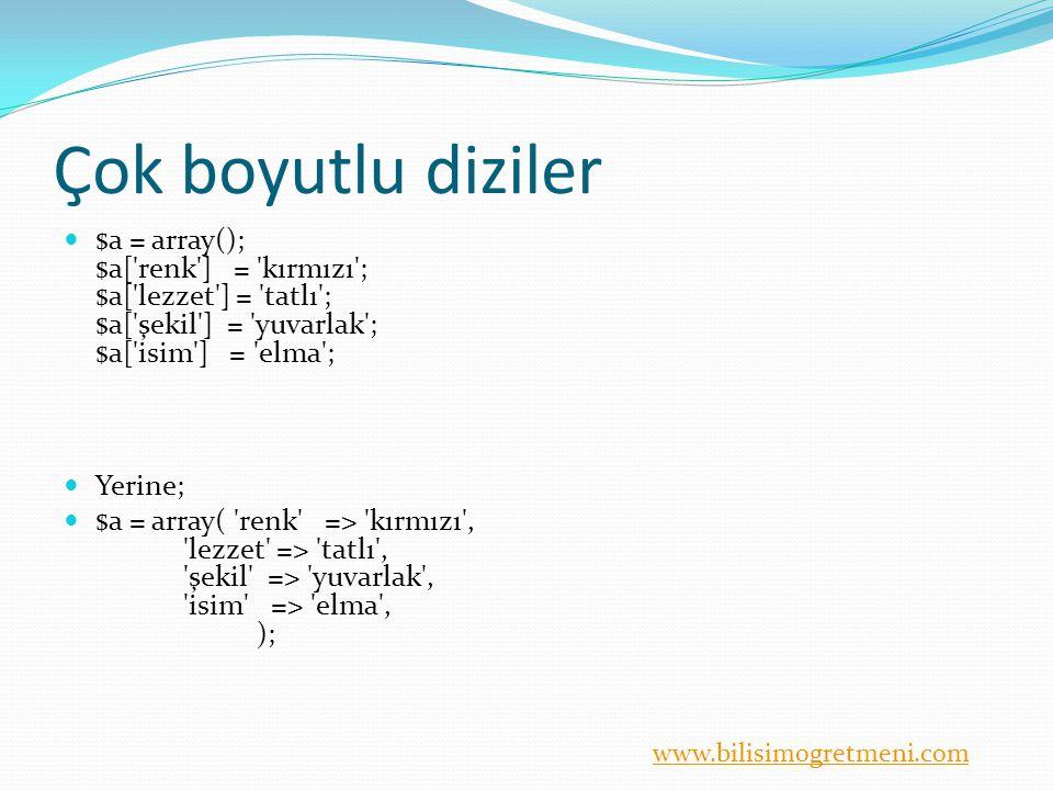 www.bilisimogretmeni.com Kontrol Yapıları <.