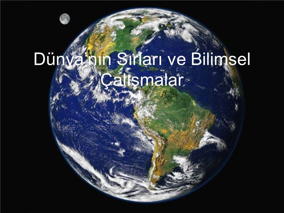 DÜNYA: Dünya (Yer, Yeryüzü,Yertinç, Acun, eski dilde Cihan ya da Arz), Güneş Sistemi nin Güneş e uzaklık açısından üçüncü sıradaki gezegeni.