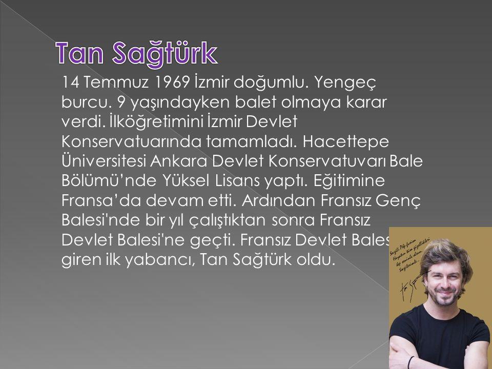 14 Temmuz 1969 İzmir doğumlu. Yengeç burcu. 9 yaşındayken balet olmaya karar verdi.