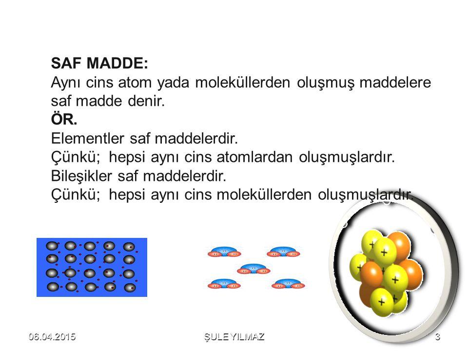 MIKNATISLA AYIRMA : Demir, Kobalt, Nikel… gibi mıknatısla çekile bilen maddeler için yapılan ayırma işlemine denir.