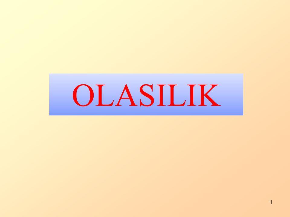1 OLASILIK