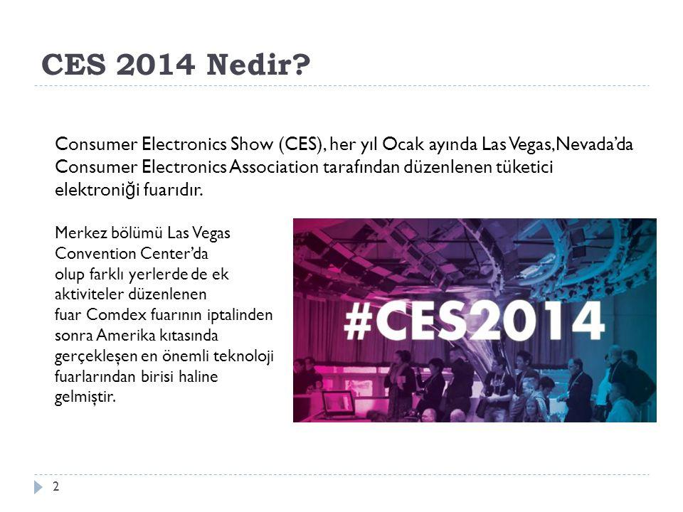 CES Fuarı'nda Neler Yaşanıyor? 13 Kıvrımlı Ekranlar