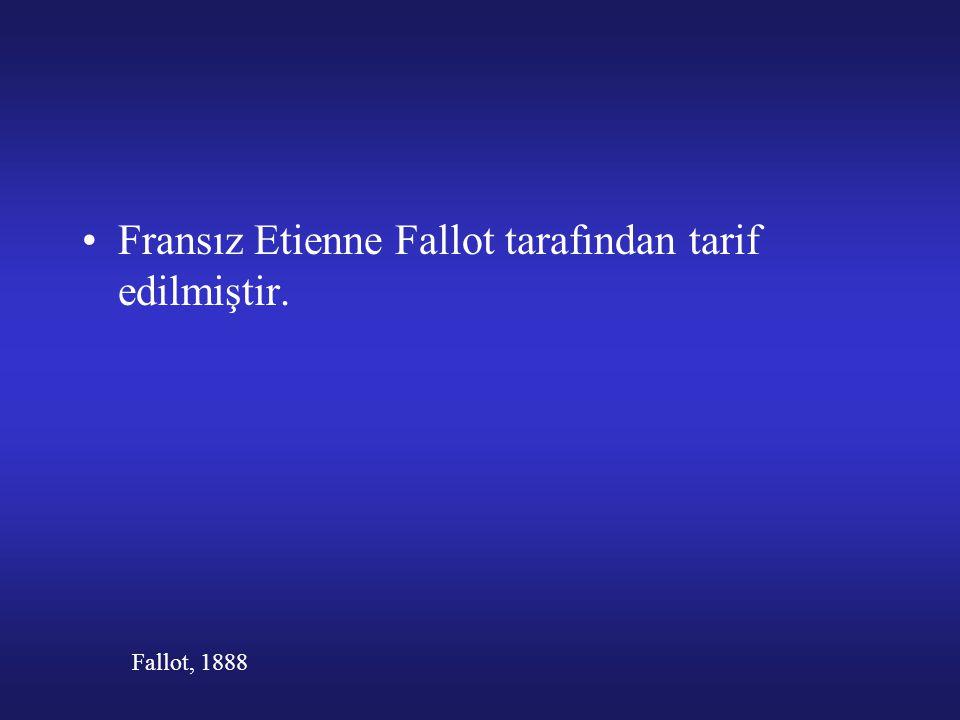 Fransız Etienne Fallot tarafından tarif edilmiştir. Fallot, 1888