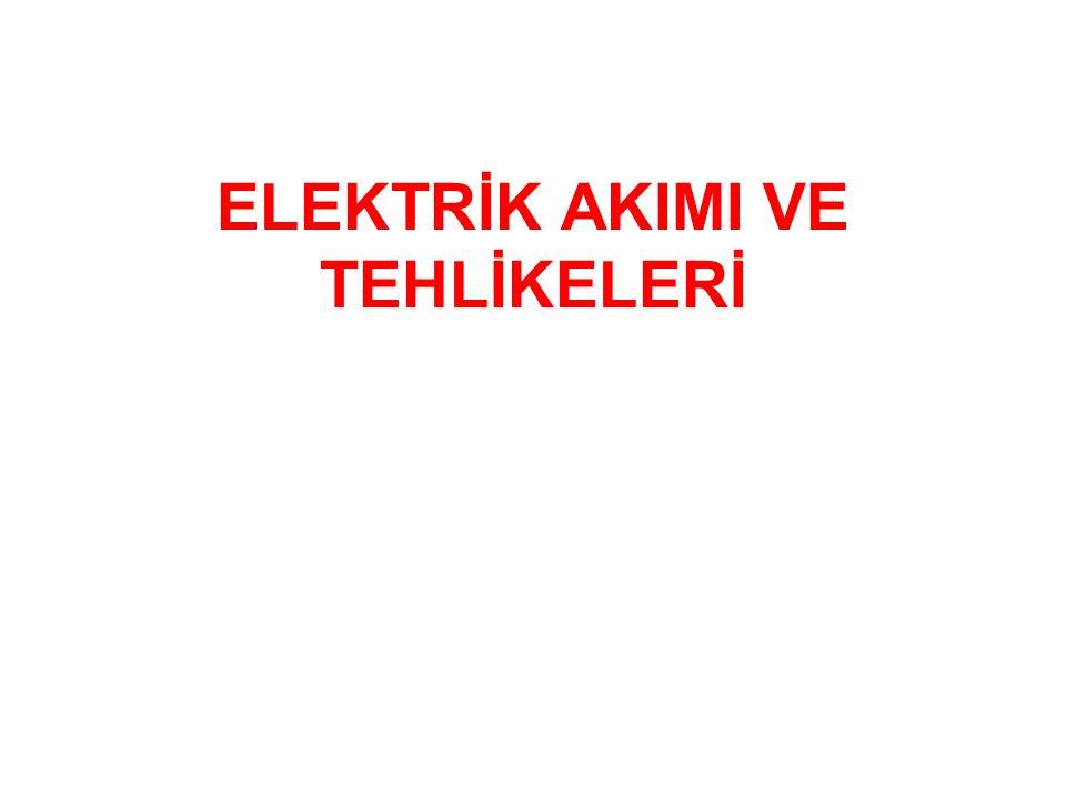 Elektrik akımının neden olduğu kazaların iyi anlaşılması, bu kazaları azaltmakta önemli rol oynar.