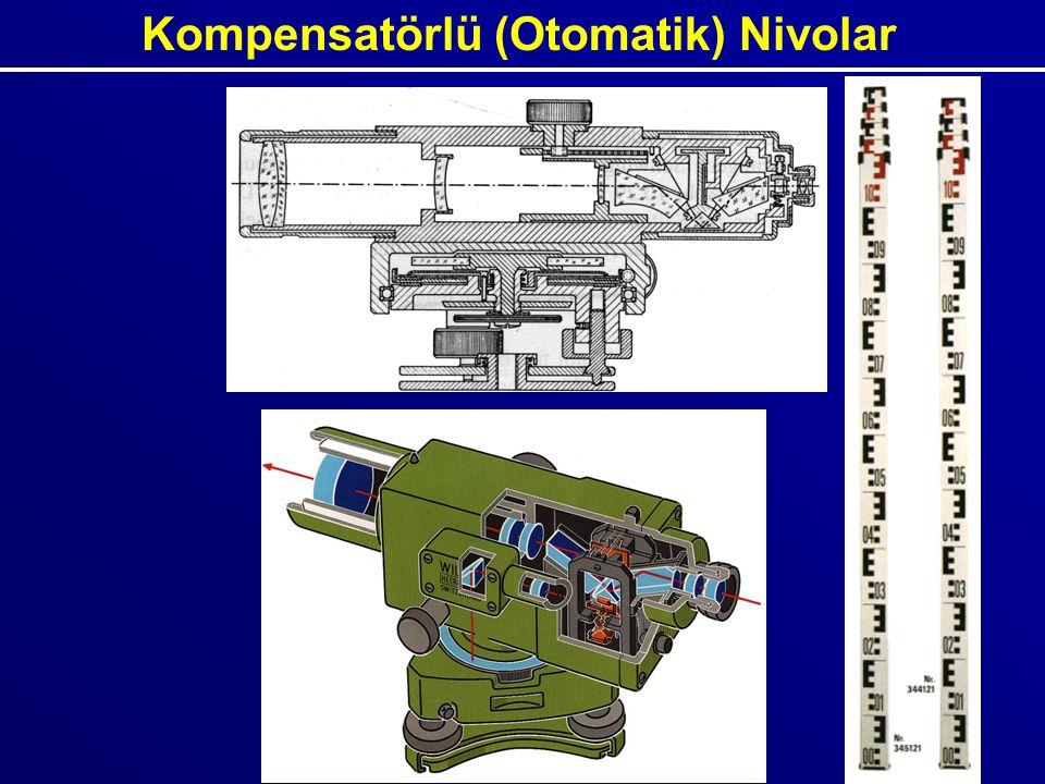 Kompensatörlü (Otomatik) Nivolar
