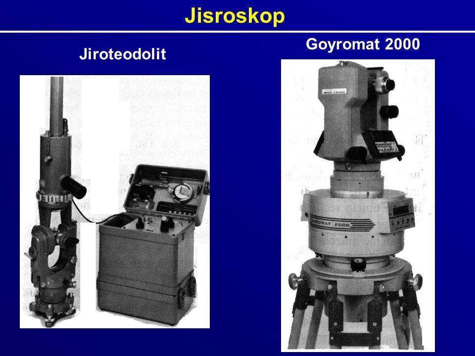 Jisroskop Jiroteodolit Goyromat 2000