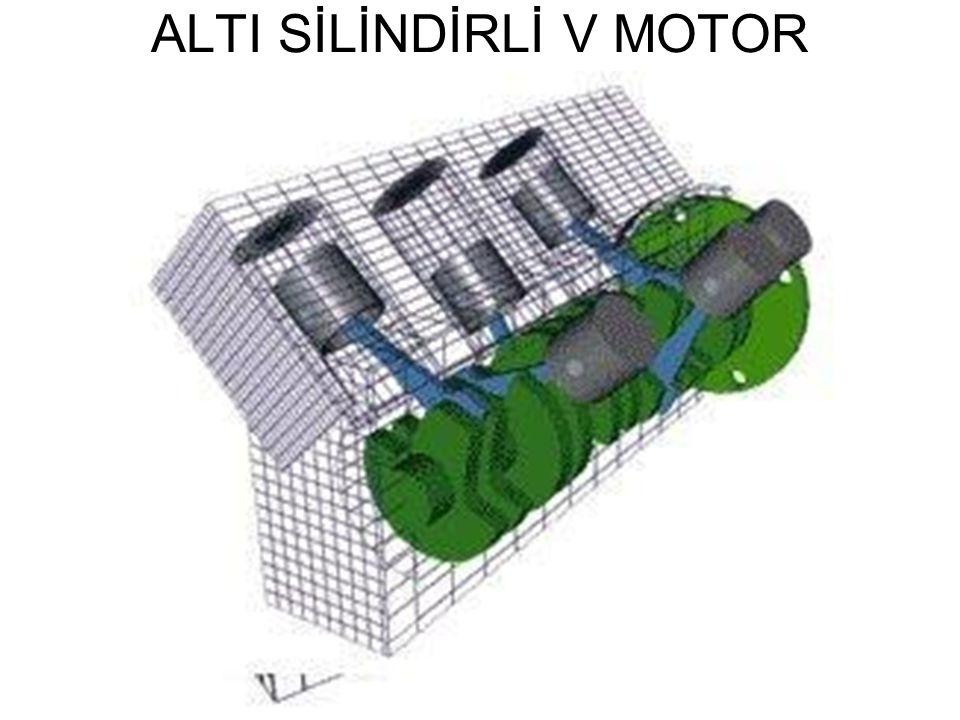 ALTI SİLİNDİRLİ V MOTOR