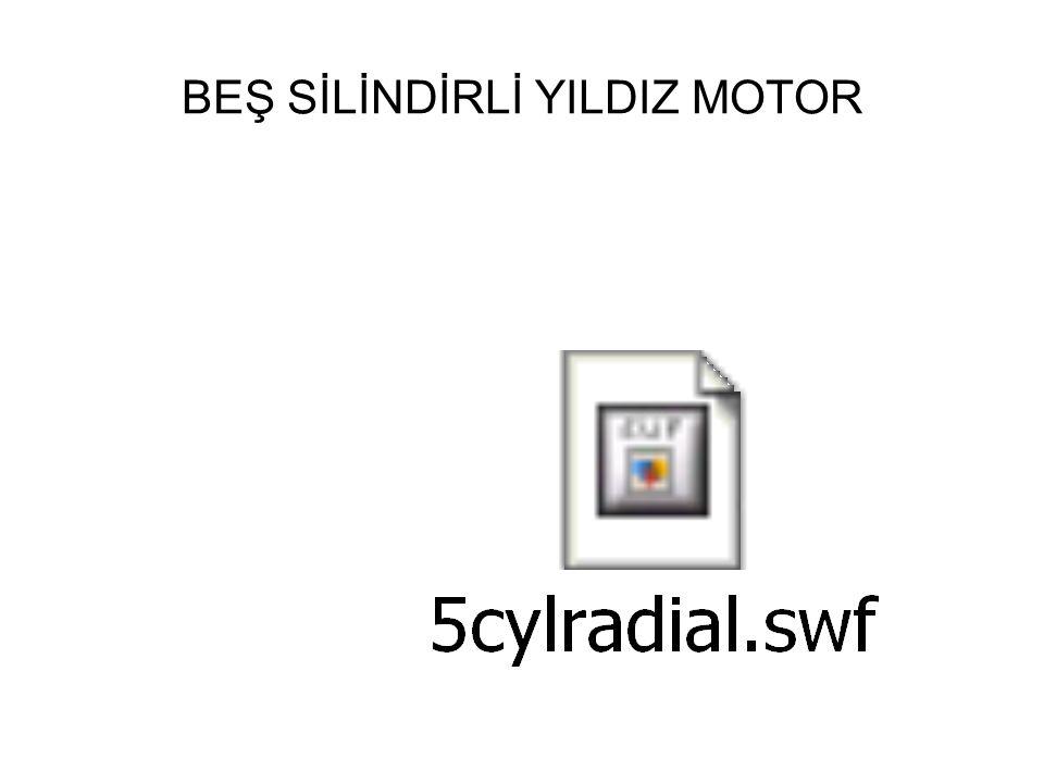 BEŞ SİLİNDİRLİ YILDIZ MOTOR