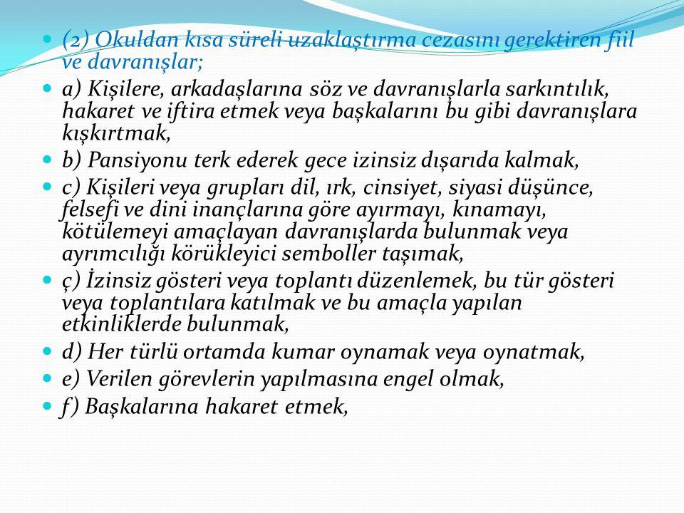 ABDULKADİR PAKSOY ANADOLU LİSESİ REHBERLİK SERVİSİ