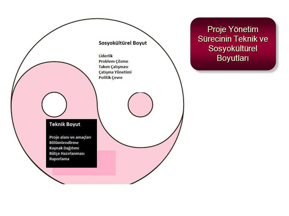 Proje Yönetim Sürecinin Teknik ve Sosyokültürel Boyutları