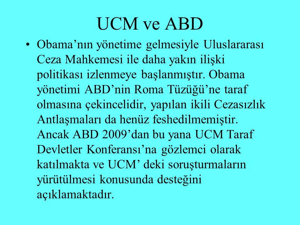 İkili Antlaşmalar UCM Tüzüğü'nün 98.maddesine dayanarak yapılıyor.
