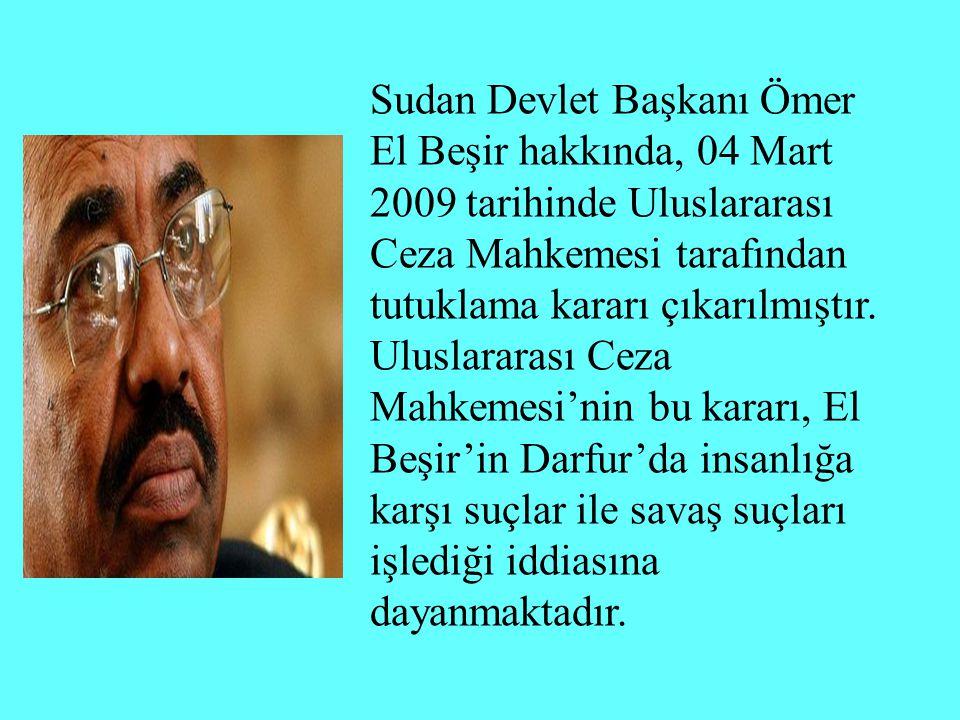 Devam Eden Davalar Uganda Demokratik Kongo Cumhuriyeti Orta Afrika Cumhuriyeti Sudan (BM Güvenlik Konseyi kararıyla başlamış) Libya (BM Güvenlik Konseyi kararıyla başlamış)