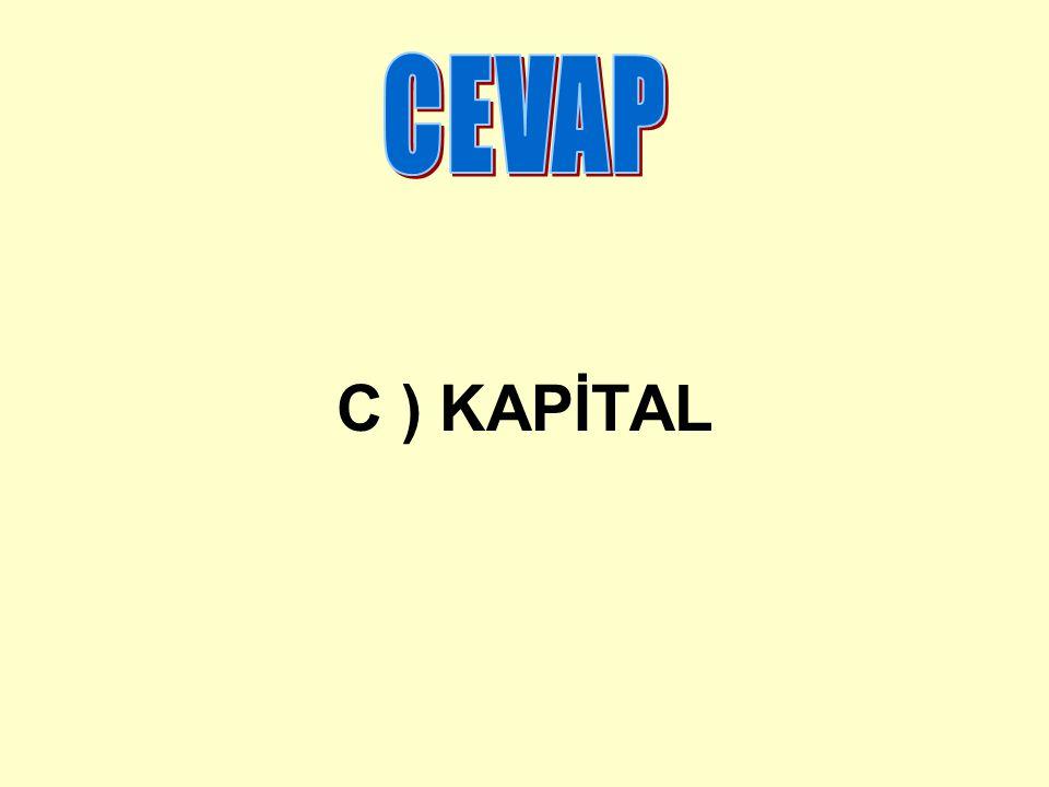 C ) KAPİTAL