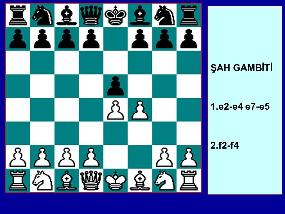 Şimdi Axd4 bir hatadır, Beyaz Vezir kuvvetli bir kareye gelmiş olur. Risk almaktan çekinmiyorsanız Vh4 ilginçtir: Beyaz'ın en iyi cevabı Adb5'tir. Ana