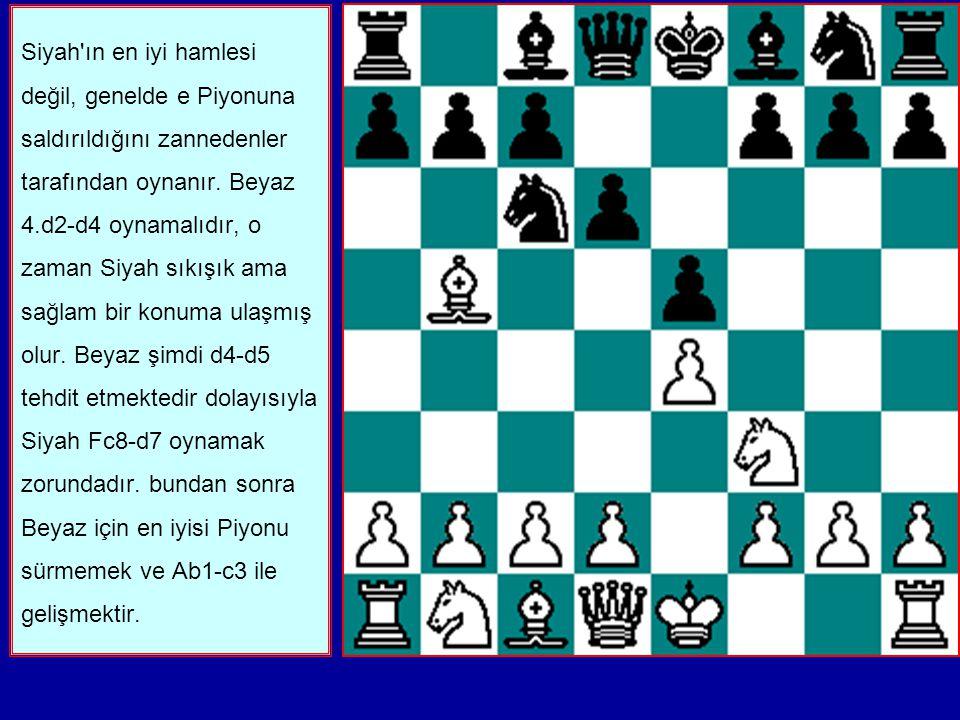 1. e2-e4 e7-e5 2. Ag1-f3 Ab8-c6 3. Ff1-b5 d7-d6