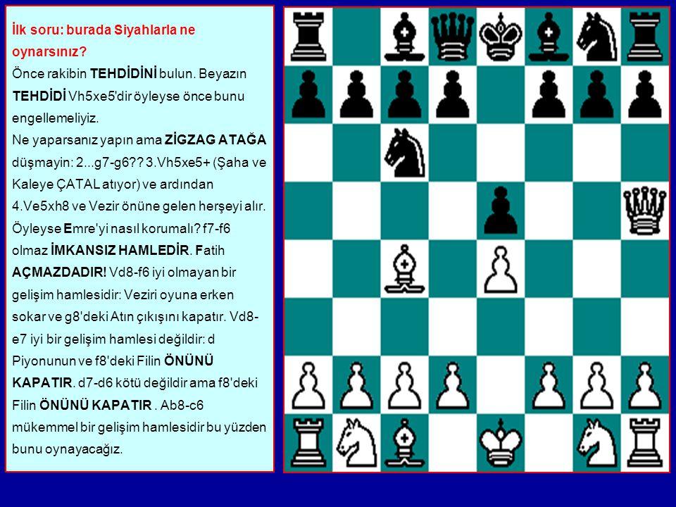 1.e2-e4 e7-e5 2.Vd1- h5