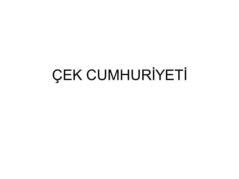 ÇEK CUMHURİYETİ