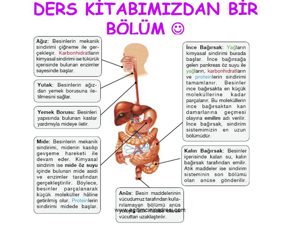 DERS KİTABIMIZDAN BİR BÖLÜM www.egitimcininadresi.com