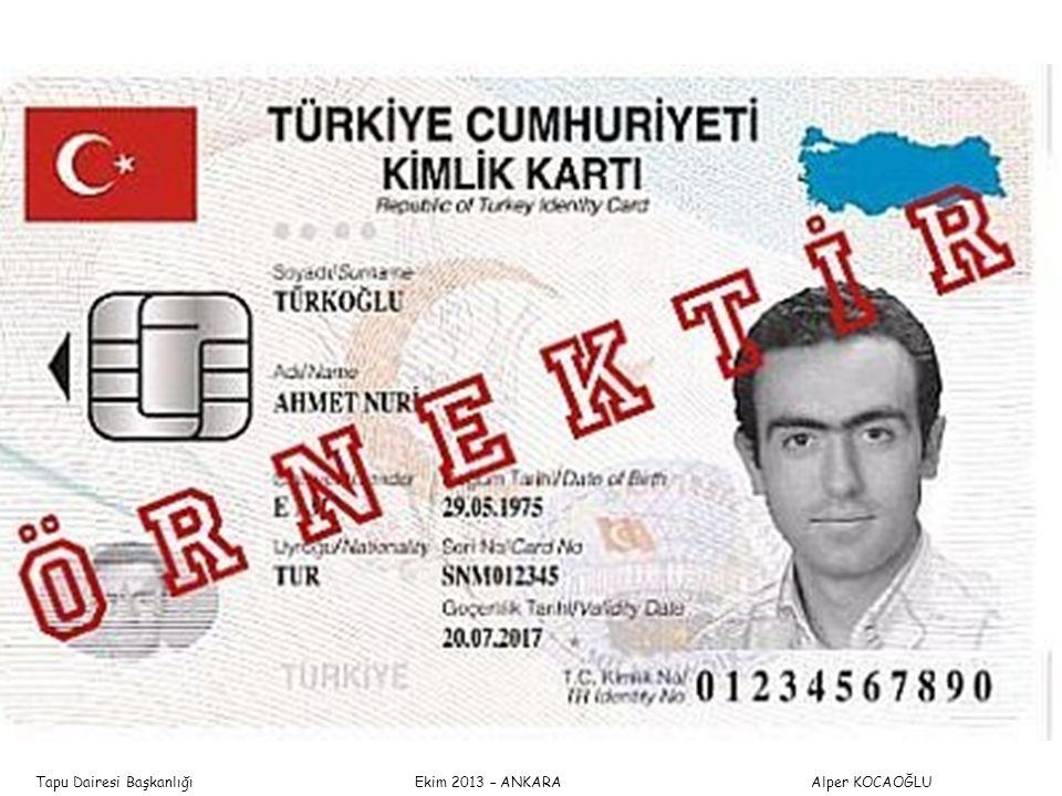 Tapu Dairesi Başkanlığı Ekim 2013 – ANKARA Alper KOCAOĞLU TAPU VE KADASTRO GENEL MÜDÜRLÜĞÜ YENİ TAPU SİCİLİ TÜZÜĞÜESKİ TAPU SİCİLİ TÜZÜĞÜ Aziller Sicili Madde 77 – (1) Vekâletten aziller, vekâlet verenlerin adının baş harfleri ve Türkiye Cumhuriyeti kimlik numarasına göre, her harf için sicilde ayrılan bölüme yazılır.