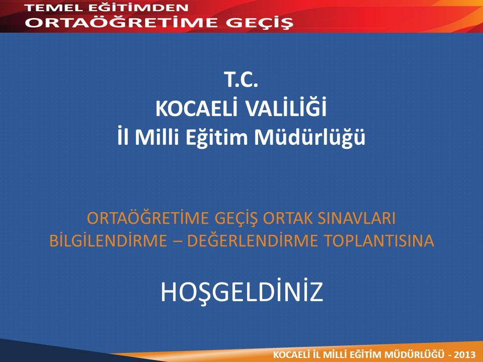 KOCAELİ İL MİLLİ EĞİTİM MÜDÜRLÜĞÜ - 2013  Okulun otomatik zillerini kapatmak.