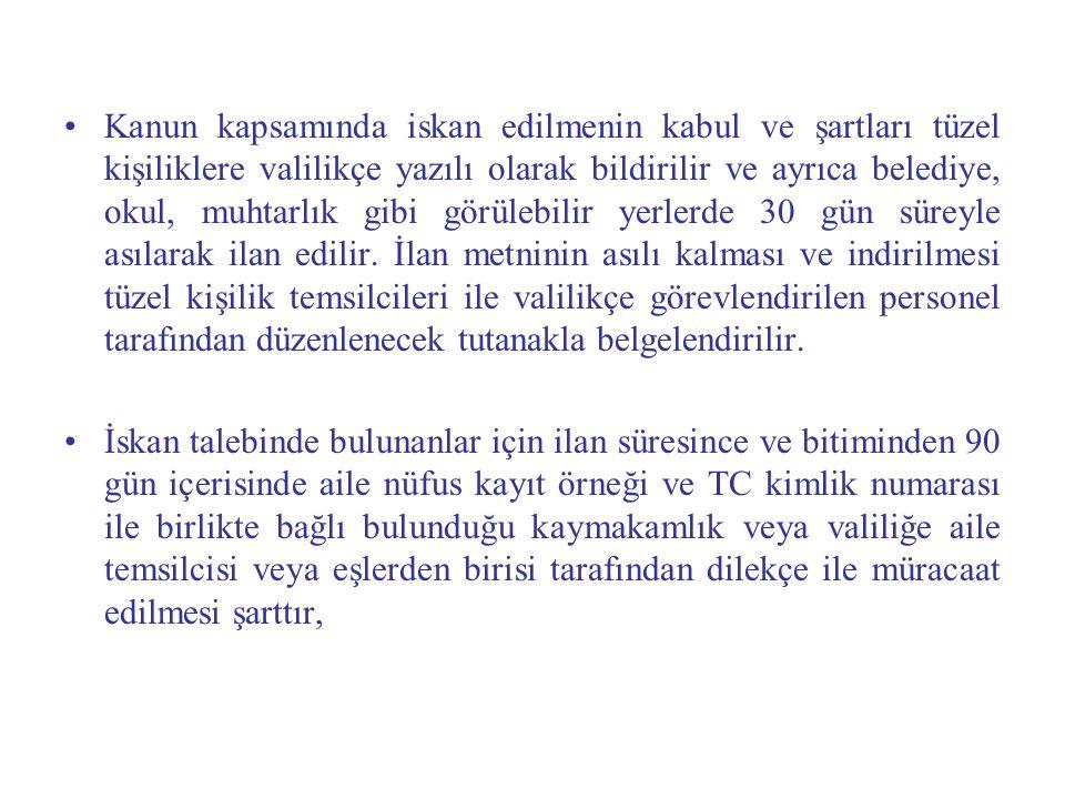 6-SERBEST GÖÇMENLER Serbest göçmen; Türkiye'ye yerleşmek için, Devlet eliyle iskân istememek şartı ile başka ülkelerden, davet sonucu münferit veya Devletler arası anlaşmalar sonucu toplu olarak gelip, 5543 ( eski 2510 ) sayılı Kanuna göre vatandaşlığa alınan, Türk soylu ve Türk Kültürüne bağlı kişilere denir.