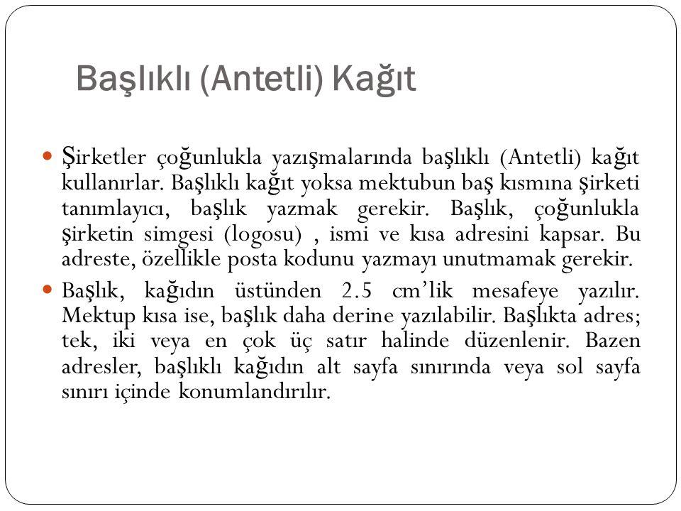SAYFA ORTALANMIŞ BAŞLIK