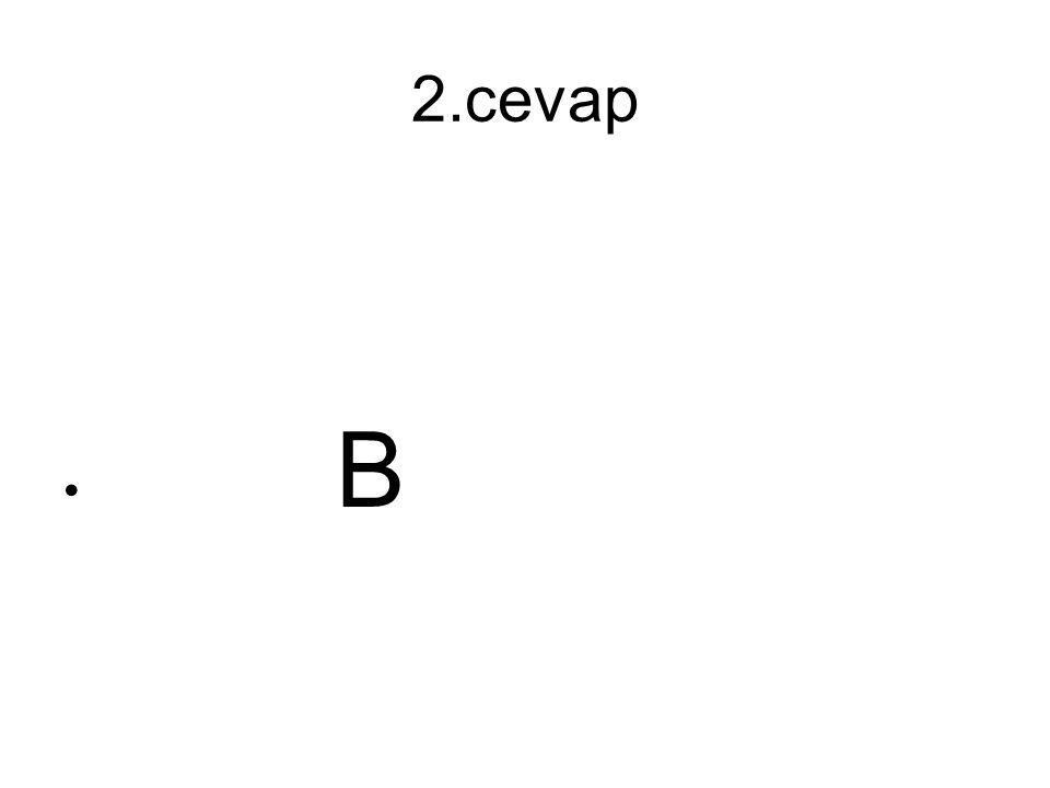 3.soru Aşağıdaki cümlelerin hangisinde fiili emir kipiyle çekimlenmiştir.