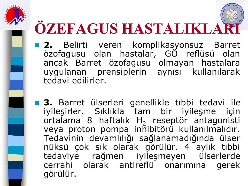 ÖZEFAGUS HASTALIKLARI 2.