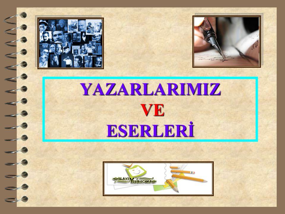 www.slaytyerim.com 11-PEYAMİ SAFA (1899-1961) 4 Romanlarında Doğu-Batı karşılaştırmasını, madde-ruh çatışmasını, insan pisikolojisini incelemiş olan yazarımızdır.