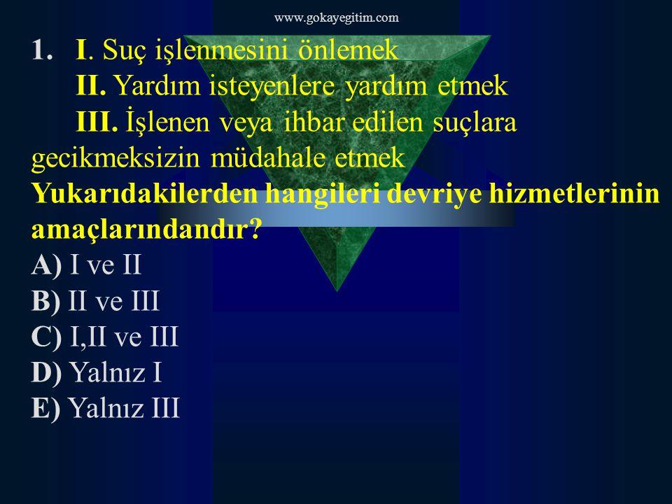 www.gokayegitim.com 37.Aşağıdakilerden hangisi etkili bir iletişim şeklidir.
