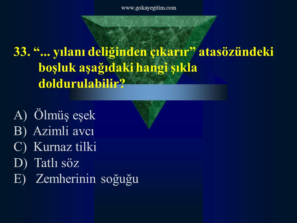 www.gokayegitim.com 33. ...