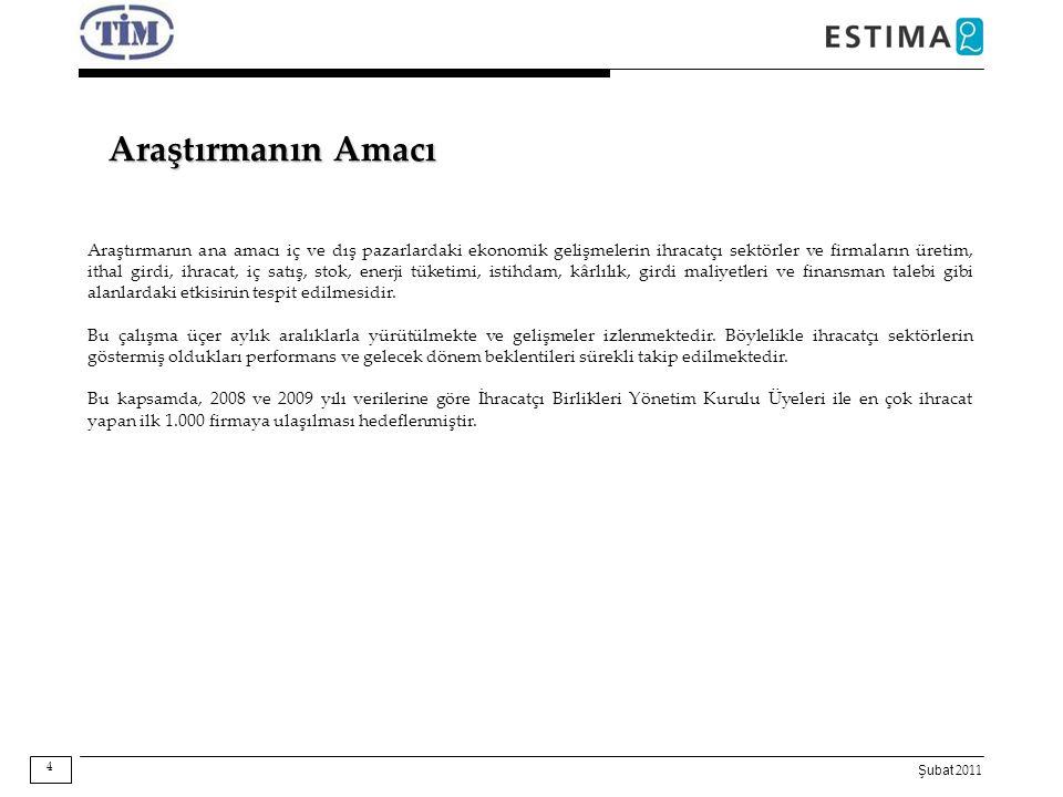 Şubat 2011 S S Ekim-Aralık döneminde ihracatta yeni pazarlara girebildiniz mi.