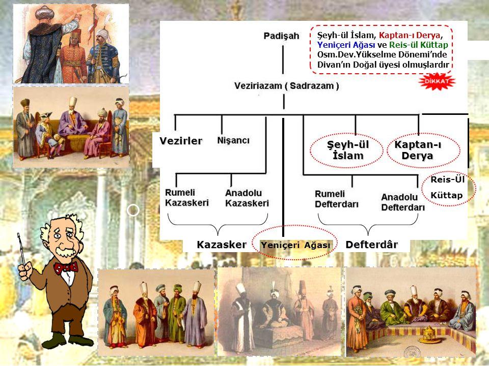 Osmanlı Devleti 'nde Padi ş ah'tan sonra karar alma yönünden en yetkili makam Divan Te ş kilatı idi. Osmanlı Devleti 'nde Padi ş ah'tan sonra karar al