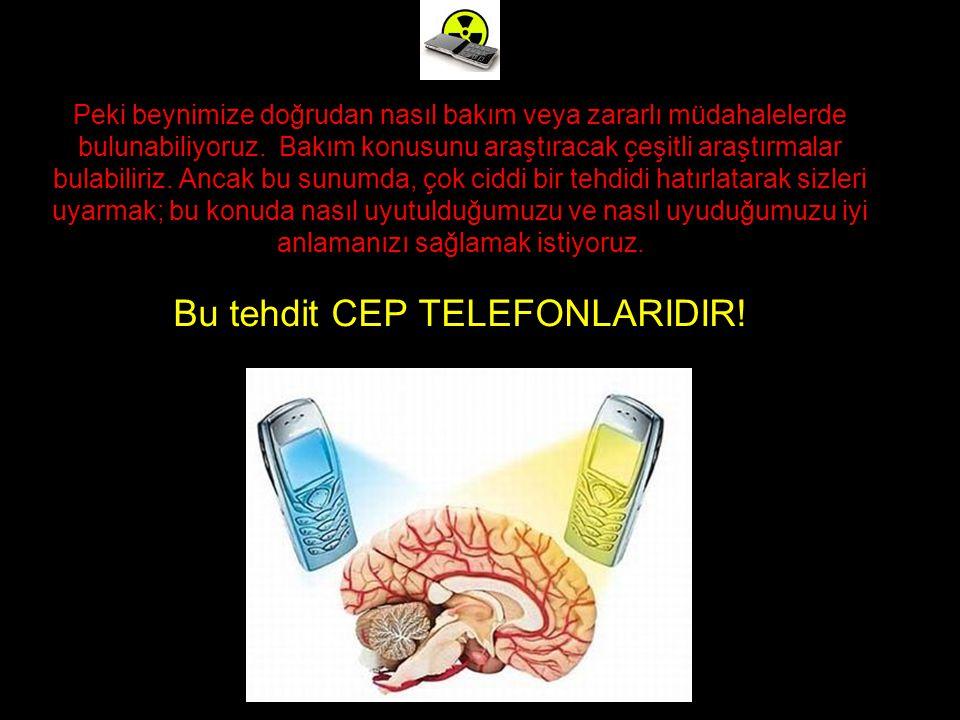 Peki beynimize doğrudan nasıl bakım veya zararlı müdahalelerde bulunabiliyoruz.