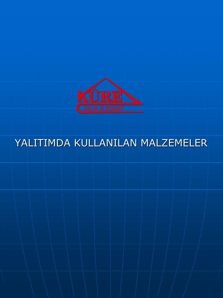 YALITIMDA KULLANILAN MALZEMELER