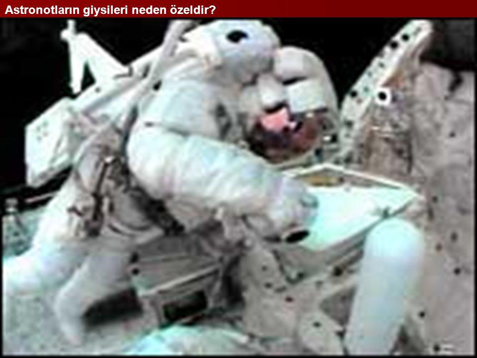 Astronotların giysileri neden özeldir
