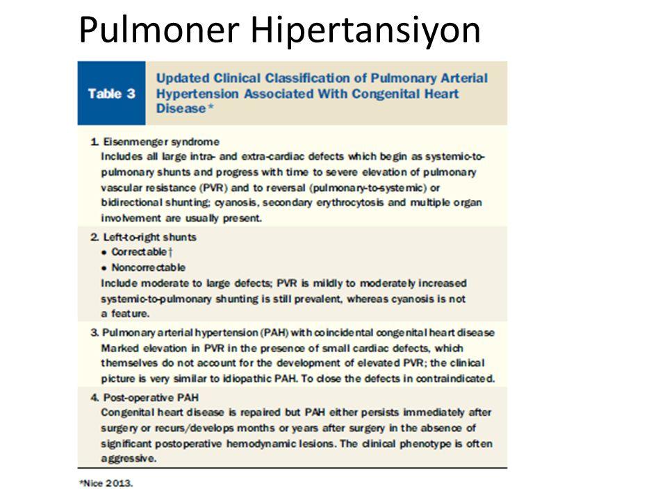 Pulmoner Hipertansiyon