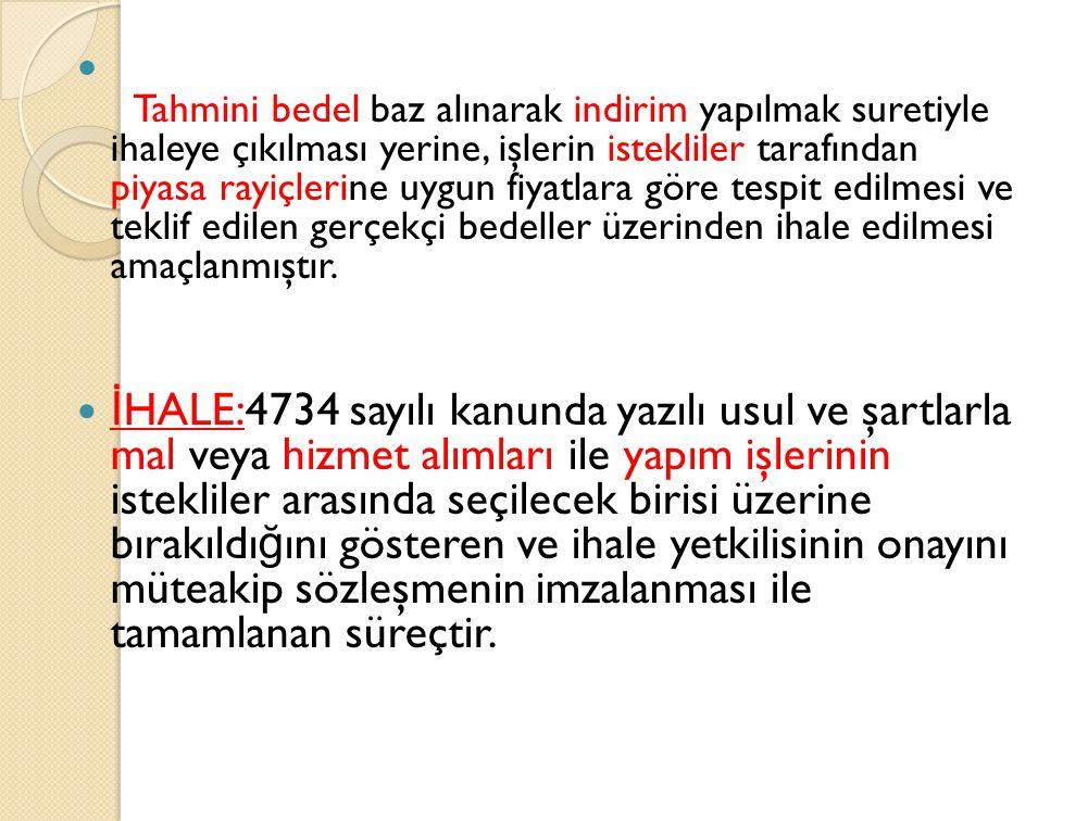 Pazarlık Usulü MADDE 21.