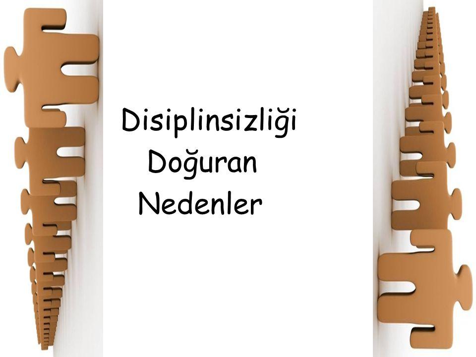 Disiplinsizliği Doğuran Nedenler