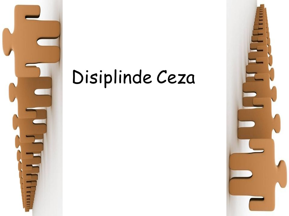 Disiplinde Ceza