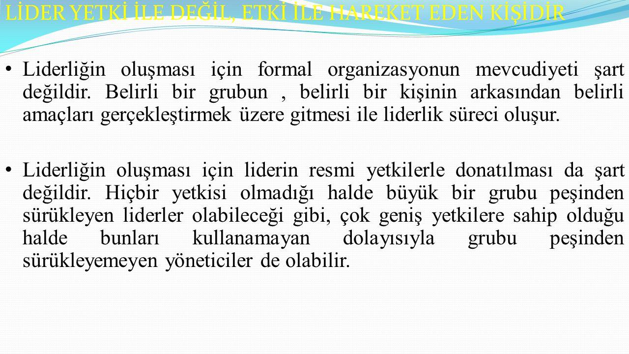 KURAMIN TEMELİ: yönetici ve çalışanlar sorumluluğu paylaşmalı; çalışanlar örgütün tüm karar süreçlerine katılmalı.