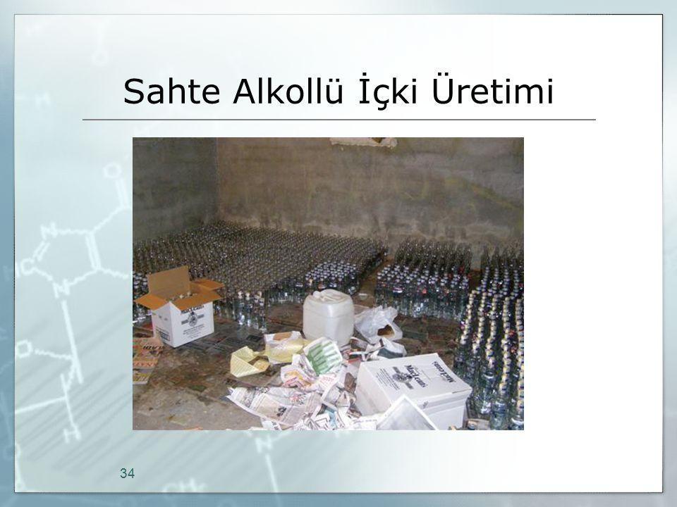Sahte Alkollü İçki Üretimi 34
