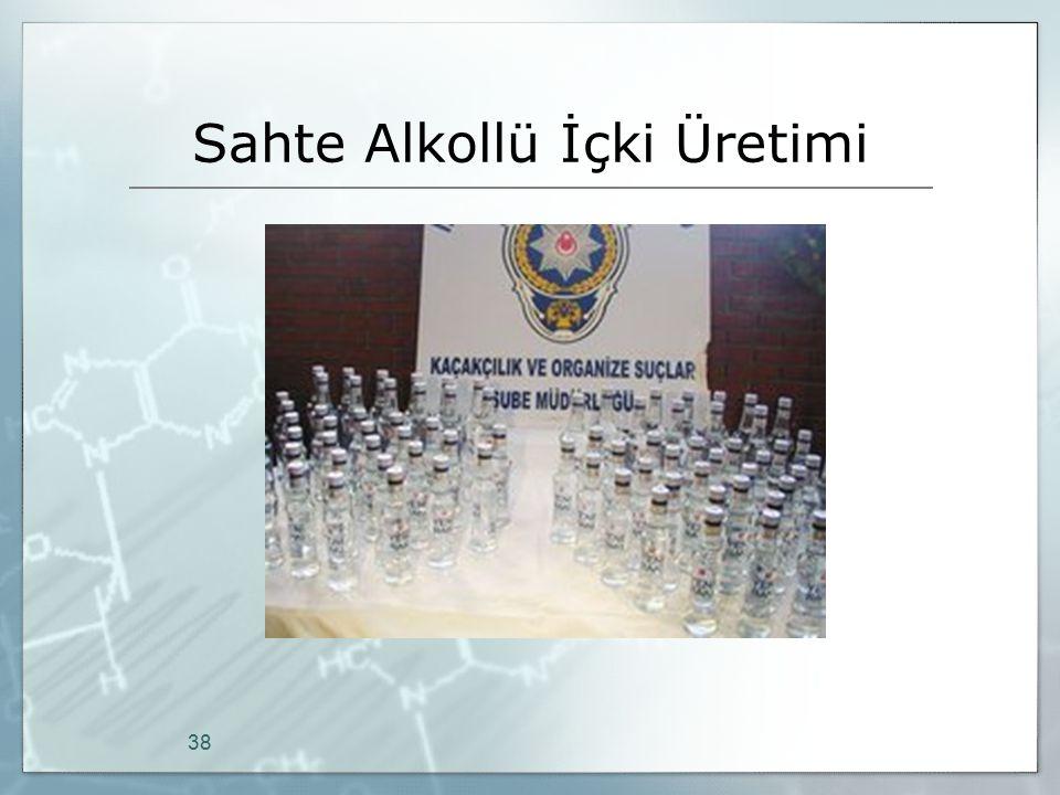 Sahte Alkollü İçki Üretimi 38