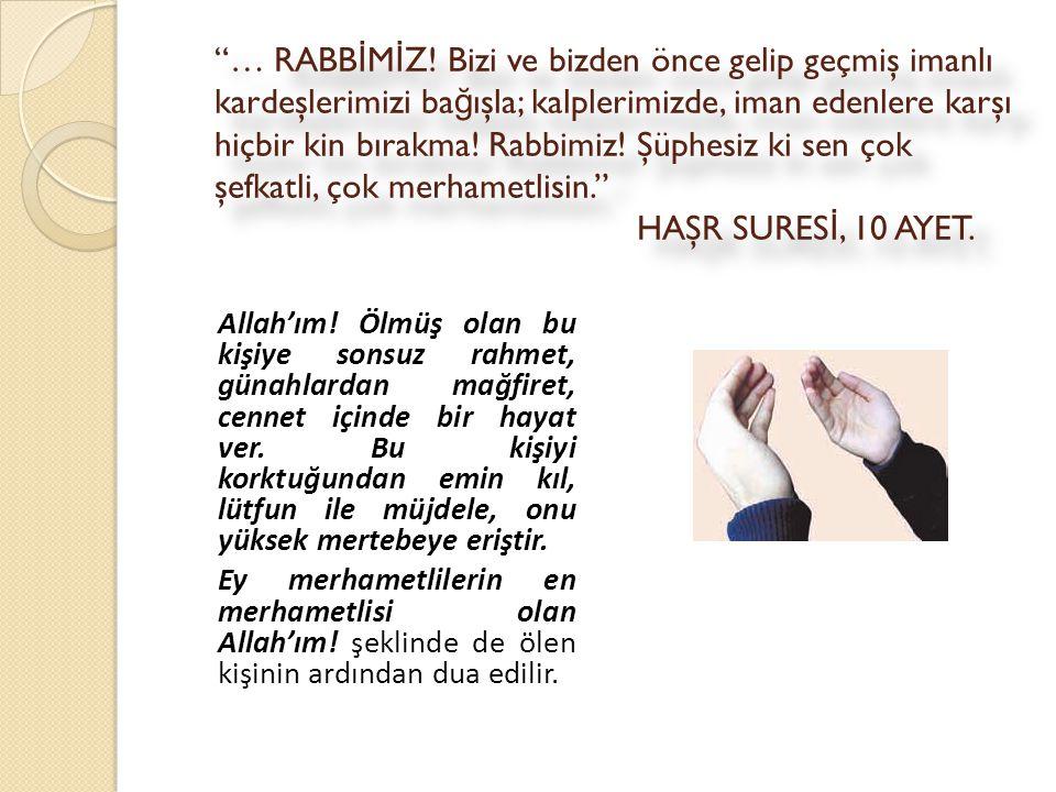 … RABB İ M İ Z.