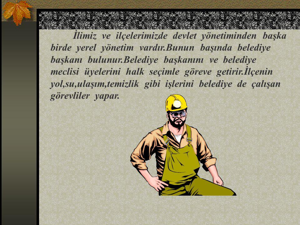 2 –İlçe ve İlin Yönetimi:En büyük yönetim birimi illerdir.İllere bağlı birçok ilçe bulunmaktadır. İl devlet yönetiminin başında vali bulunur.Vali, yap